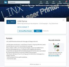 LINX France sur LinkedIn