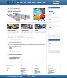 Site internet LINX